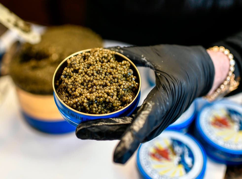 <p>Regulations exist due to the trade of black market caviar</p>
