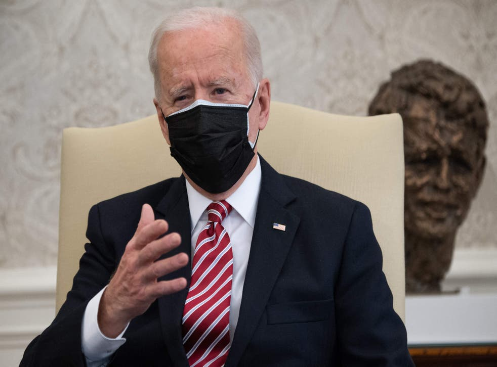 <p>Joe Biden potentially faces the first major international crisis of his presidency </p>