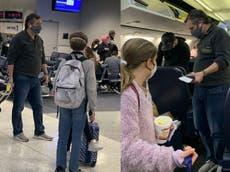Ted Cruz solicitó asistencia policial en el aeropuerto minutos antes de su vuelo a Cancún