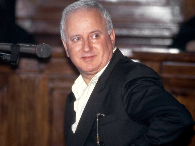 <p>Cutolo is pictured during a court appearance in 2005</p>