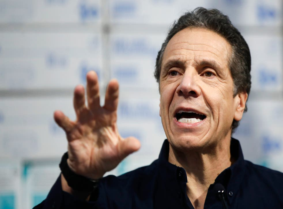 <p>Andrew Cuomo issued a statement following allegations of harassment</p>