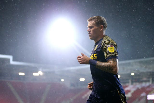 James McClean in action for Stoke City