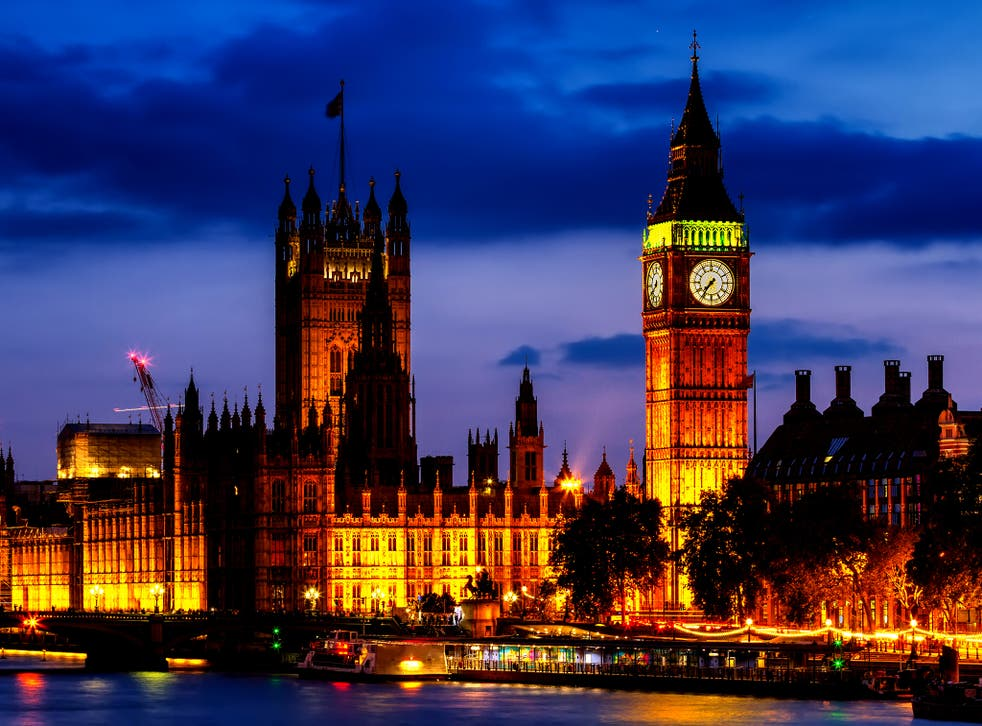 <p>The configuration of the two houses of parliament, with government and opposition ranged against each other, is akin to the confrontation of two armies</p>