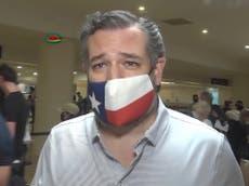 Las excusas de Ted Cruz por su viaje a Cancún continúan desmoronándose mientras United Airlines investiga cómo se filtró su itinerario
