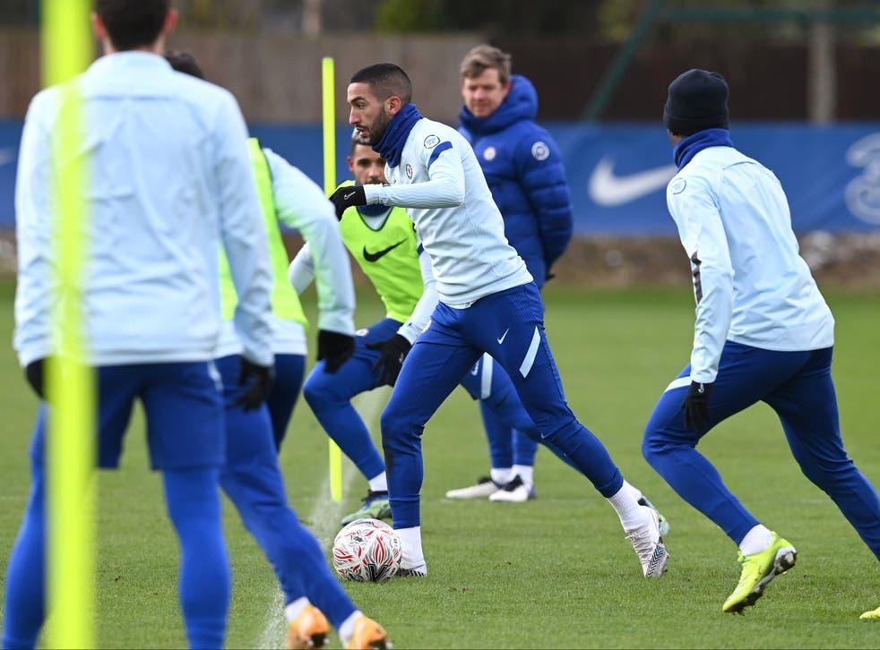 Chelsea midfielder Hakim Ziyech