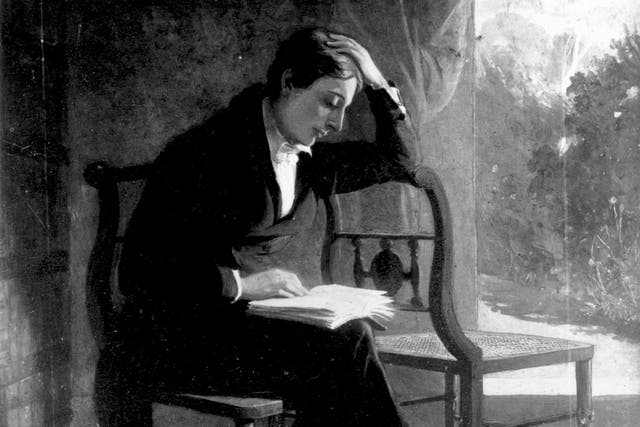 <p>Throughout his short adult life, Keats would equate love with sickness</p>