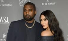 """""""Se acabó"""": Kim Kardashian solicita el divorcio a Kanye West"""