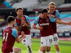 West Ham vs Tottenham result: Hammers face unfamiliar feeling of looking up after statement victory over rivals