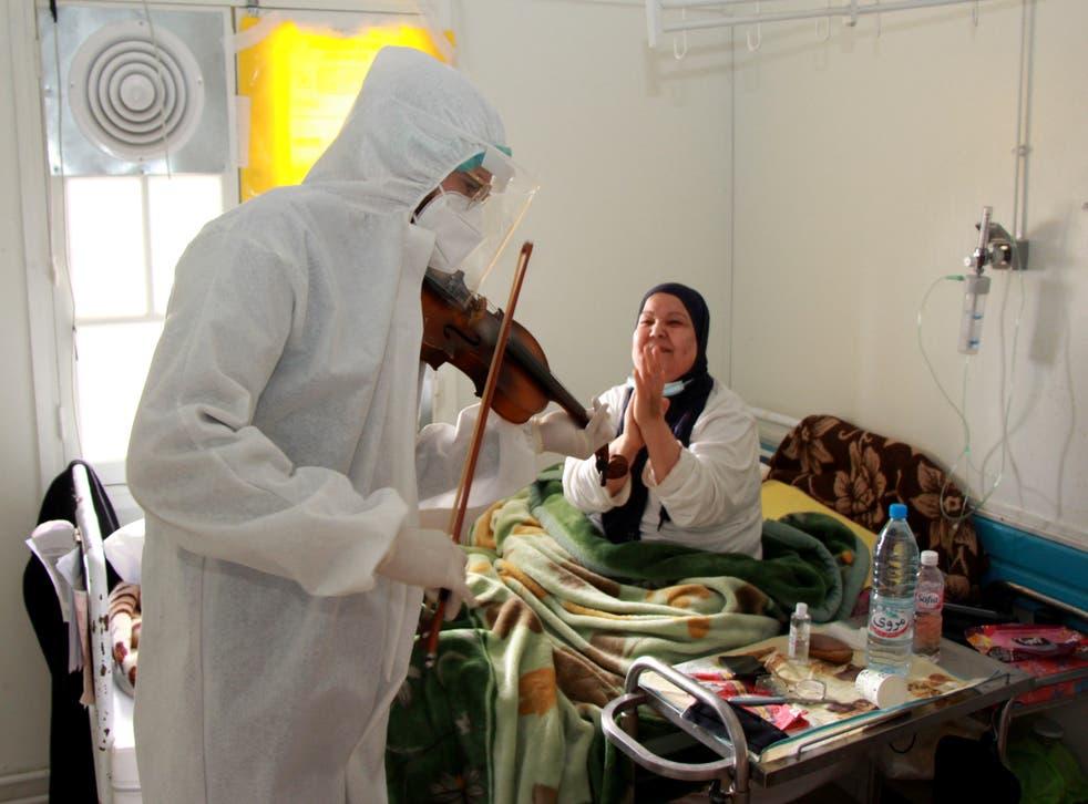 Virus Outbreak Tunisia Music