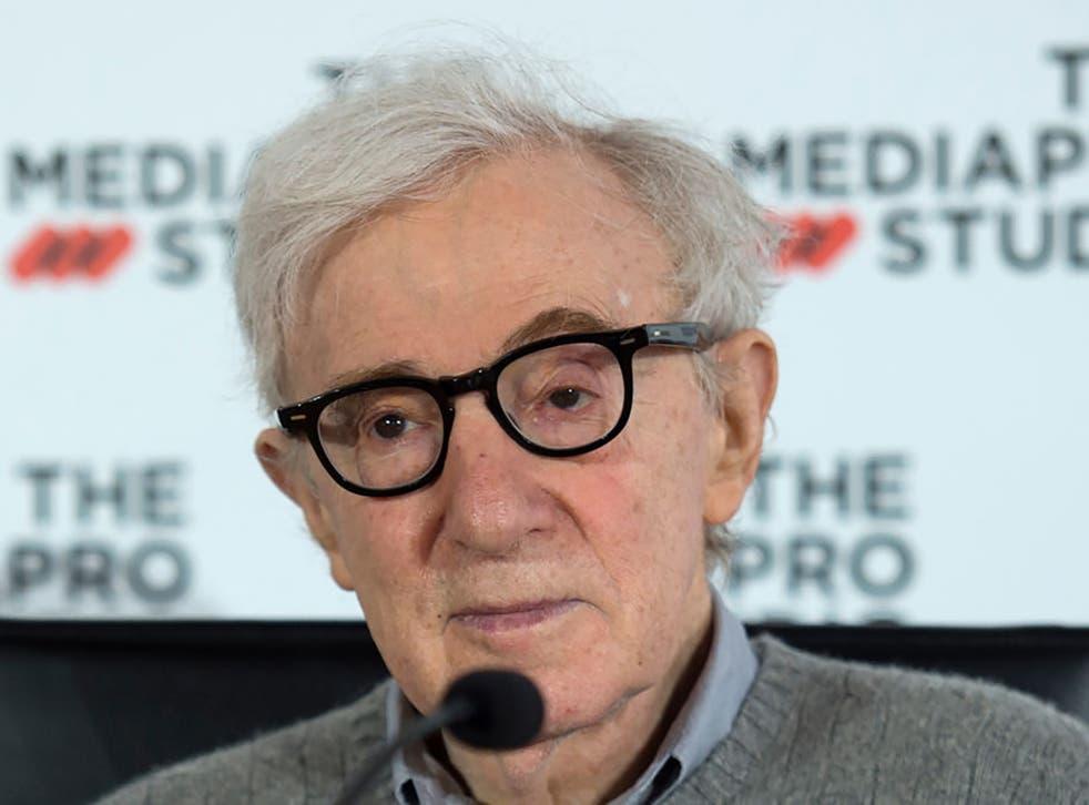 Filmmaker Woody Allen in 2019