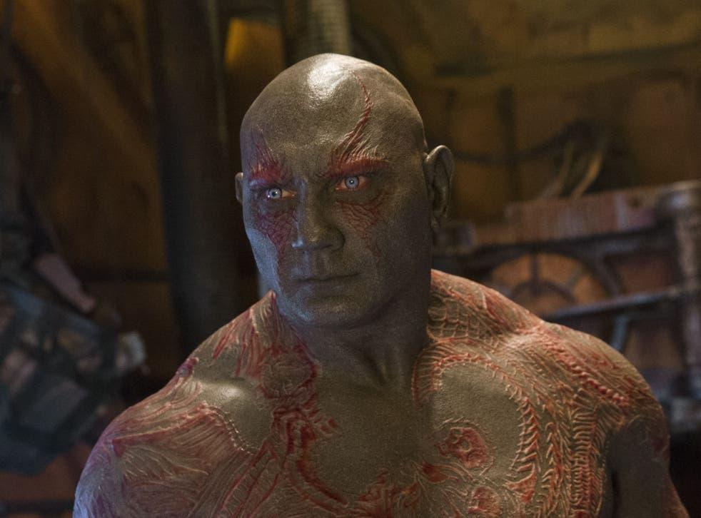 <p>'Guardians of the Galaxy' director James Gunn struggled to cast Dave Bautista in original film</p>