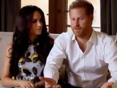 Harry y Meghan hacen su primera aparición después de anunciar el embarazo y el distanciamiento oficial de los deberes reales