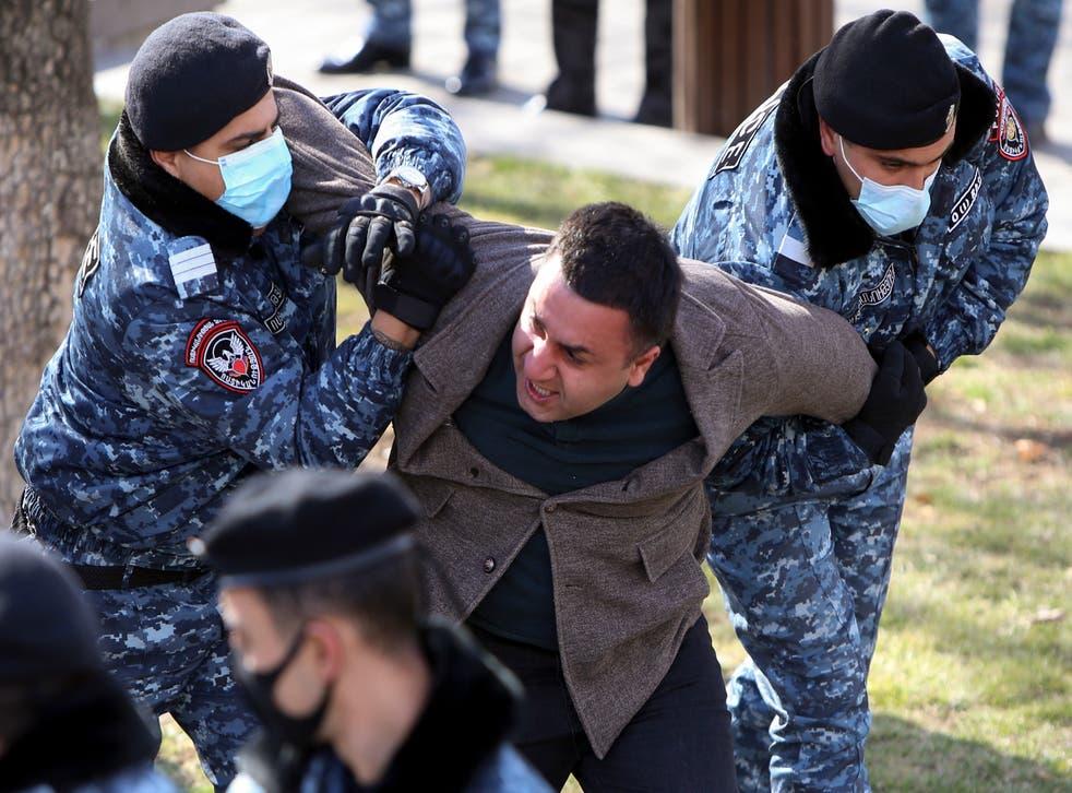 Armenia Protest