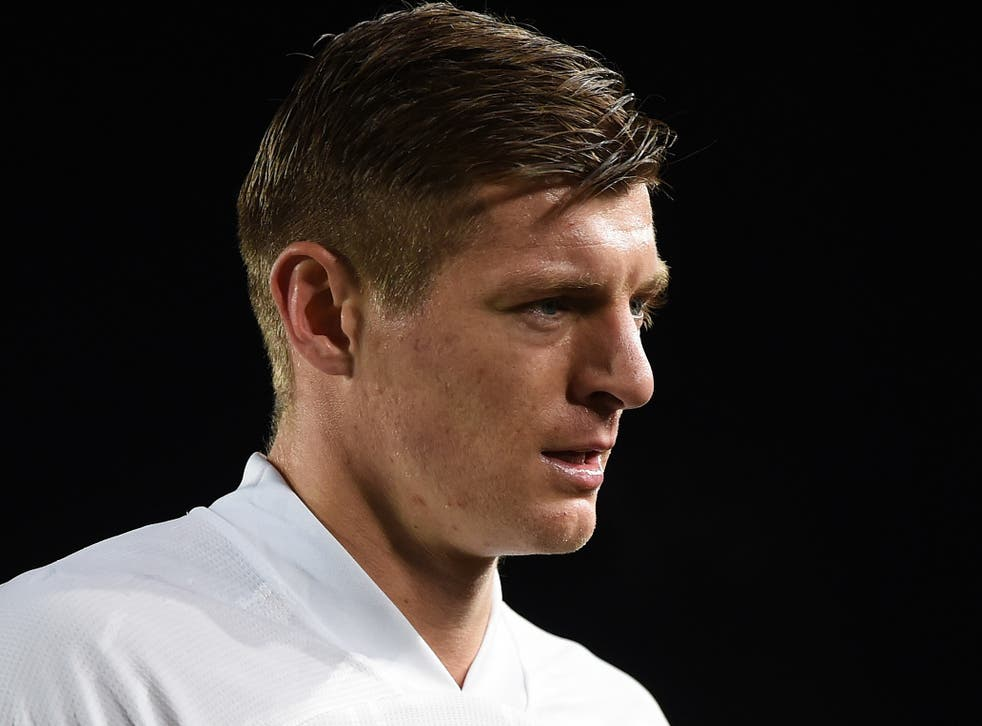 Real Madrid midfielder Toni Kroos