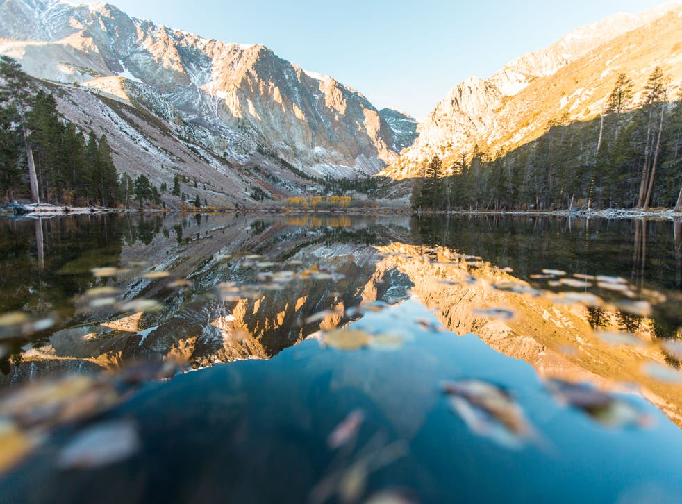 <p>California's Mammoth Lakes is ideal for some solitude</p>