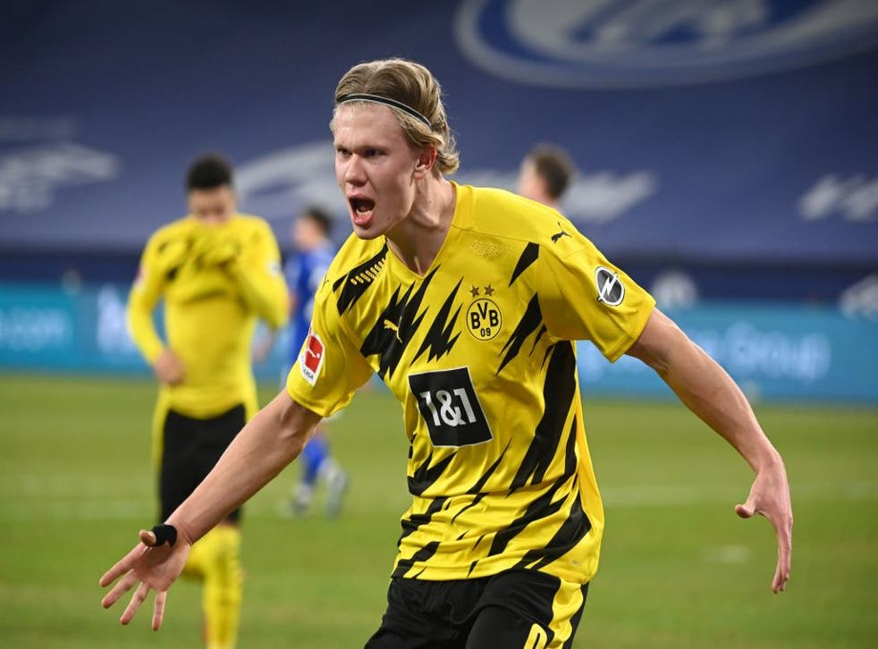 <p>Erling Haaland has been excellent this season for Borussia Dortmund</p>
