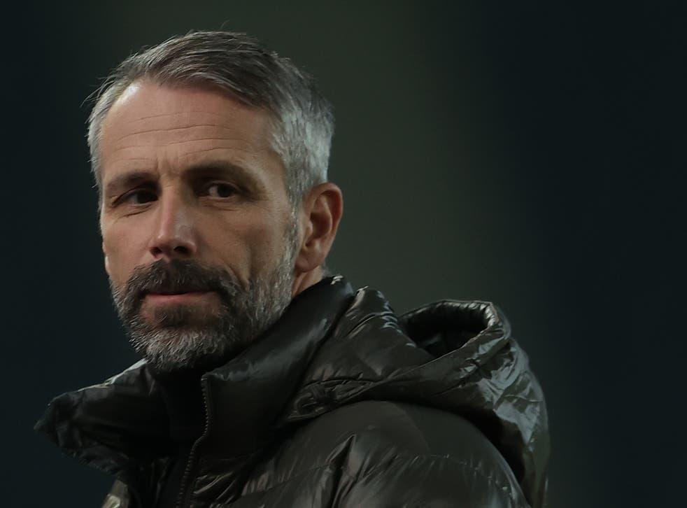 Borussia Monchengladbach manager Marco Rose