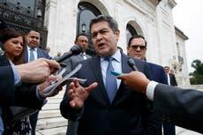 Presidente de Honduras Juan Orlando Hernández advierte que la cooperación antinarcóticos con EE.UU. está en peligro