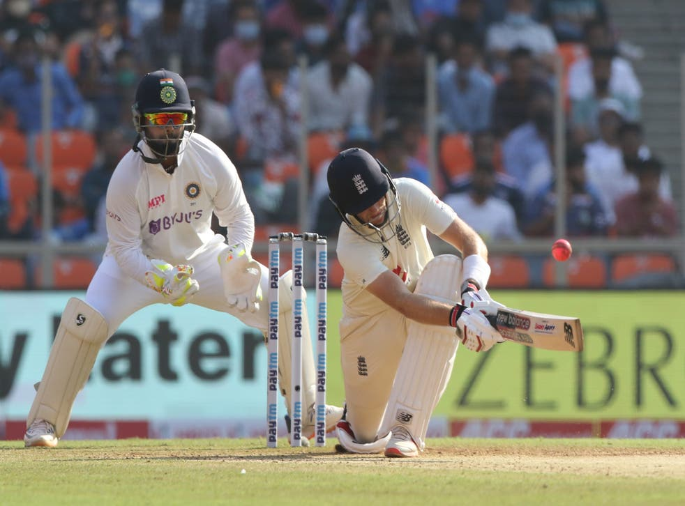 Joe Root succumbed to spin in Ahmedabad