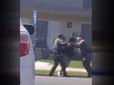 California police filmed shooting man dead for jaywalking