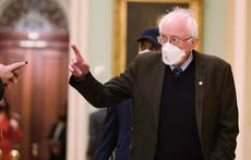Bernie Sanders approval rating higher than Biden and Harris as he champions minimum wage and stimulus checks