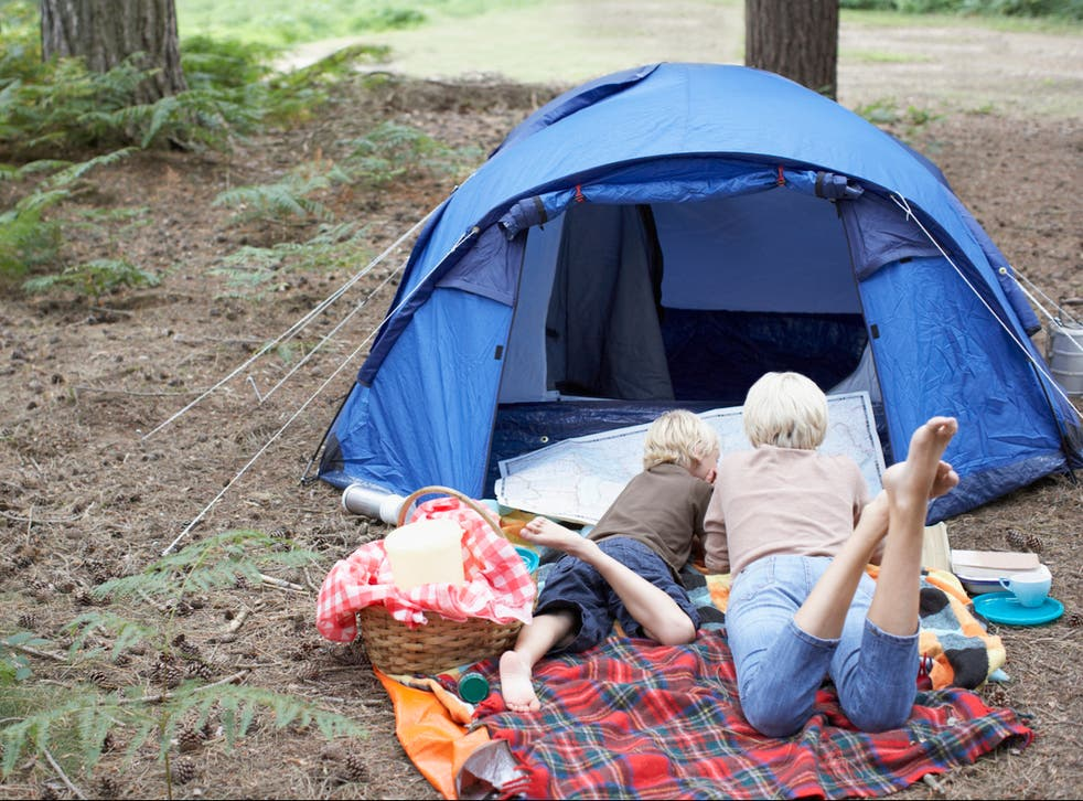 Camping could be possible from mid-April