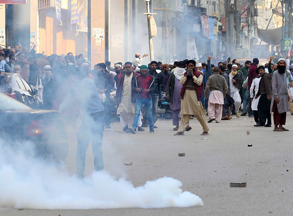 <p>Blasphemy cases in Pakistan often spark violent protests by Islamic groups. Amnesty International is calling for a repeal of the country's blasphemy laws amid an 'alarming uptick' in accusations</p>