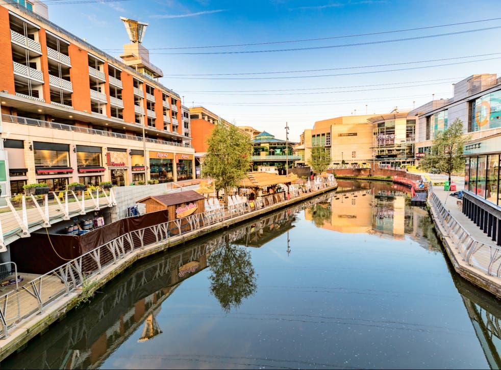 <p>The River Kennet in Reading</p>
