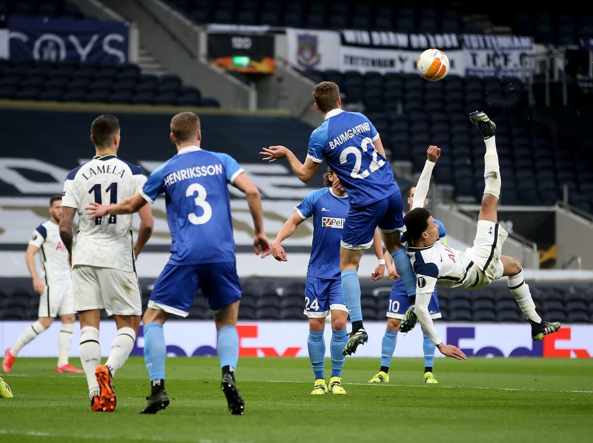 Tottenham vs Wolfsberger LIVE –Latest Europa League updates