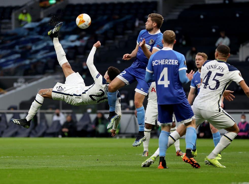 Tottenham midfielder Dele Alli