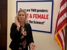 """""""Asquerosa, patética, inimaginablemente cruel"""": Marjorie Taylor Greene en aprietos por ofender a la hija trans de una congresista demócrata"""
