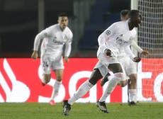 Champions League: con un solitario gol de Mendy, el Real Madrid vence al Atalanta