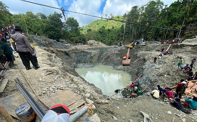 Indonesia Mine Accident