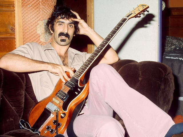 <p>Father of Invention: Zappa's mantra was to 'keep it unique'</p>