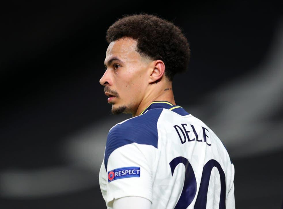 <p>Dele Alli of Tottenham</p>