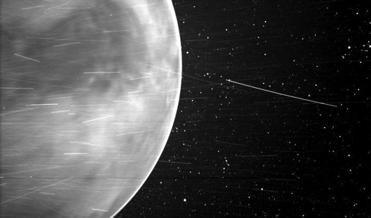 Nasa releases astonishing image of Venus that includes 'surprising observation'