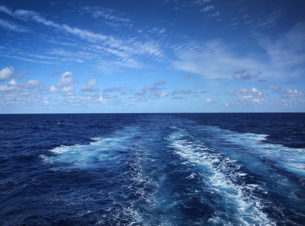 <p>Clear evidence: Atlantic currents carry the Gulf Stream</p>