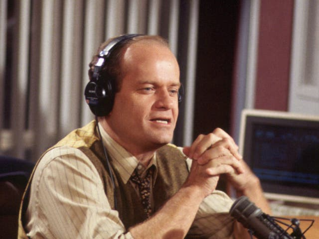Grammer played fusty psychiatrist Frasier Crane for two decades, in Cheers and its spin-off, Frasier