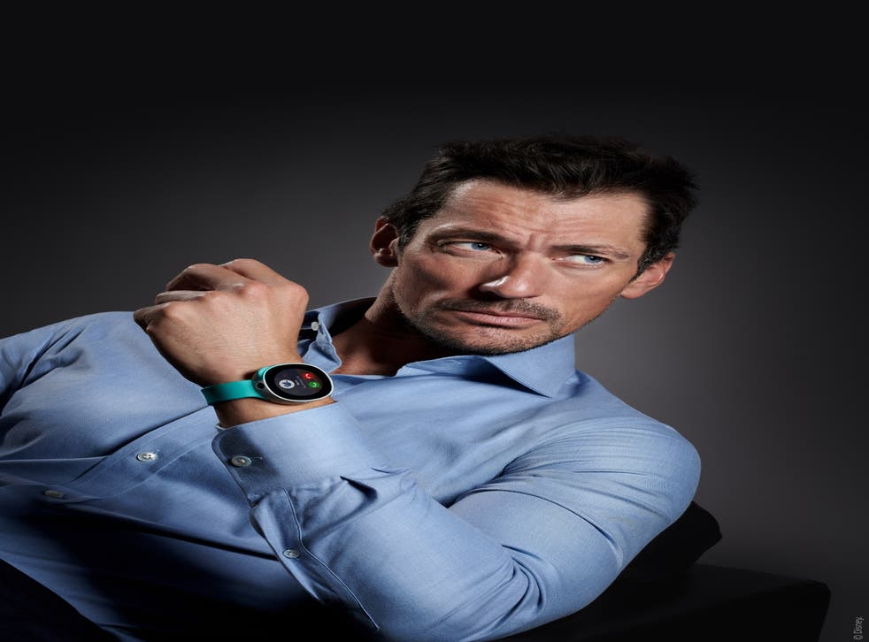 A handout photo of David Gandy, who is promoting Vodafone's smart kids watch, Neo.