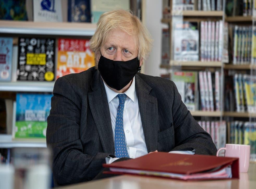 <p>Boris Johnson has had many detractors over his handling of the Covid-19 pandemic</p>