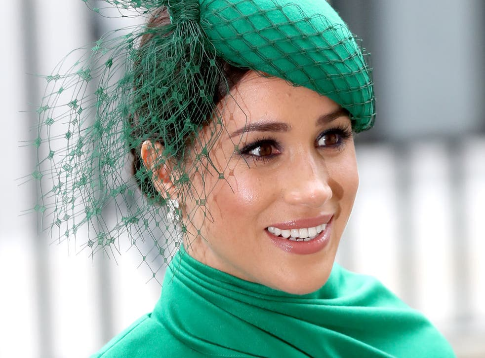 <p>Meghan Markle at a royal event </p>