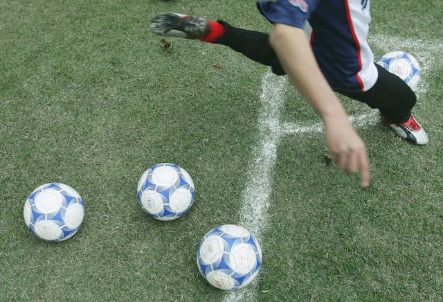 <p>The boy was taking part in an after-school football club</p>