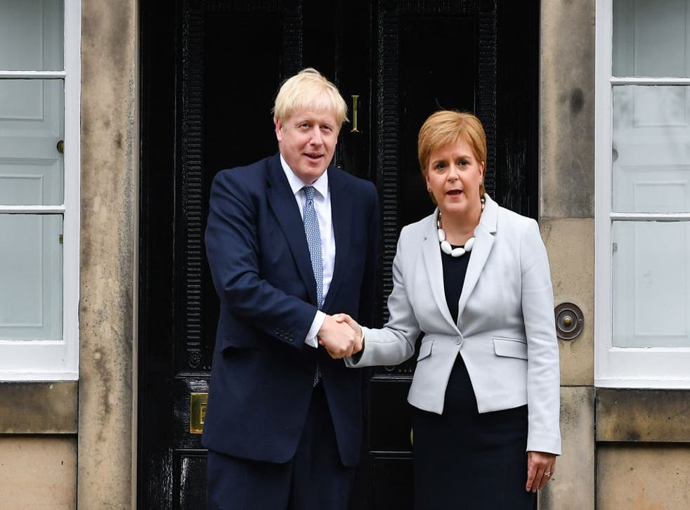 <p>The two leaders have chosen different terms to outline the easing of lockdown</p>