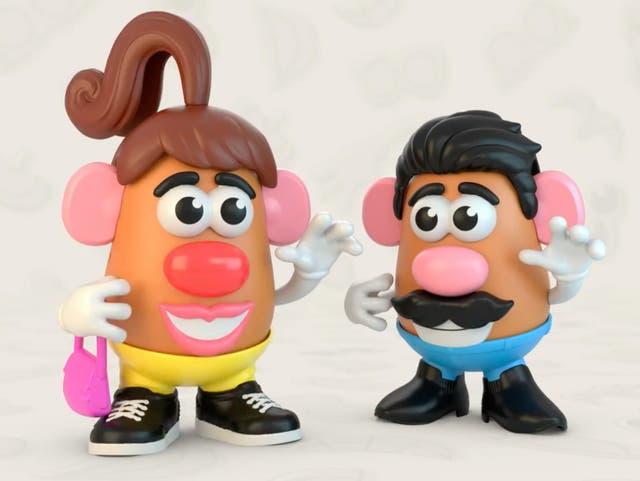 Hasbro anuncia que los nuevos juguetes Potato Head serán neutrales al género