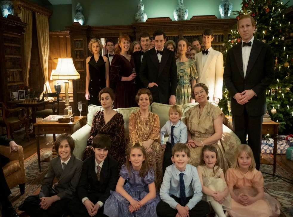 The royal family on The Crown
