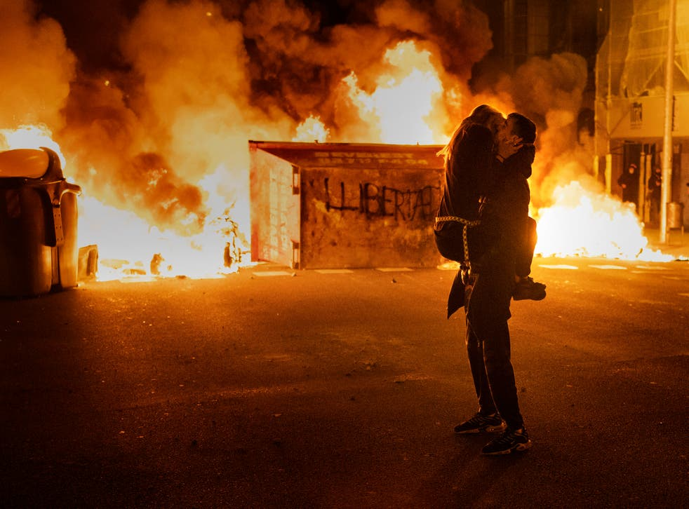 Spain Rapper Protests Photo Gallery