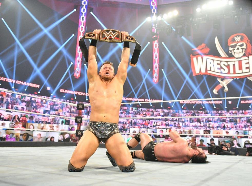 <p>The Miz wins the WWE Championship</p>