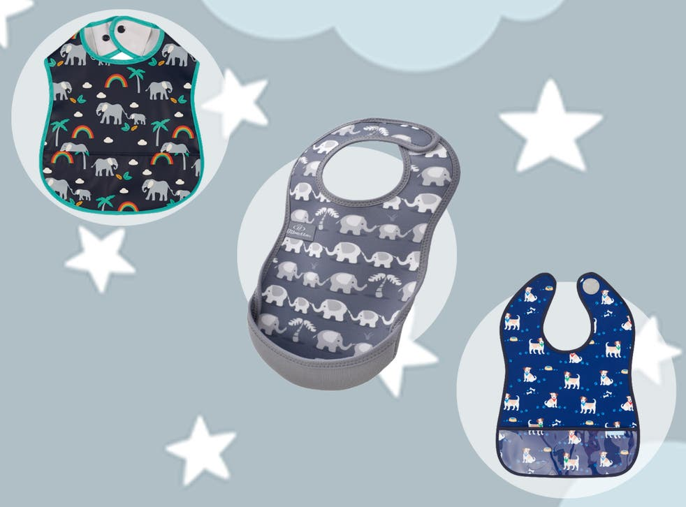 <p>We recruited our 11-month-old tester to try these bibs out, judging them on style, cost, ease of use and durability</p>