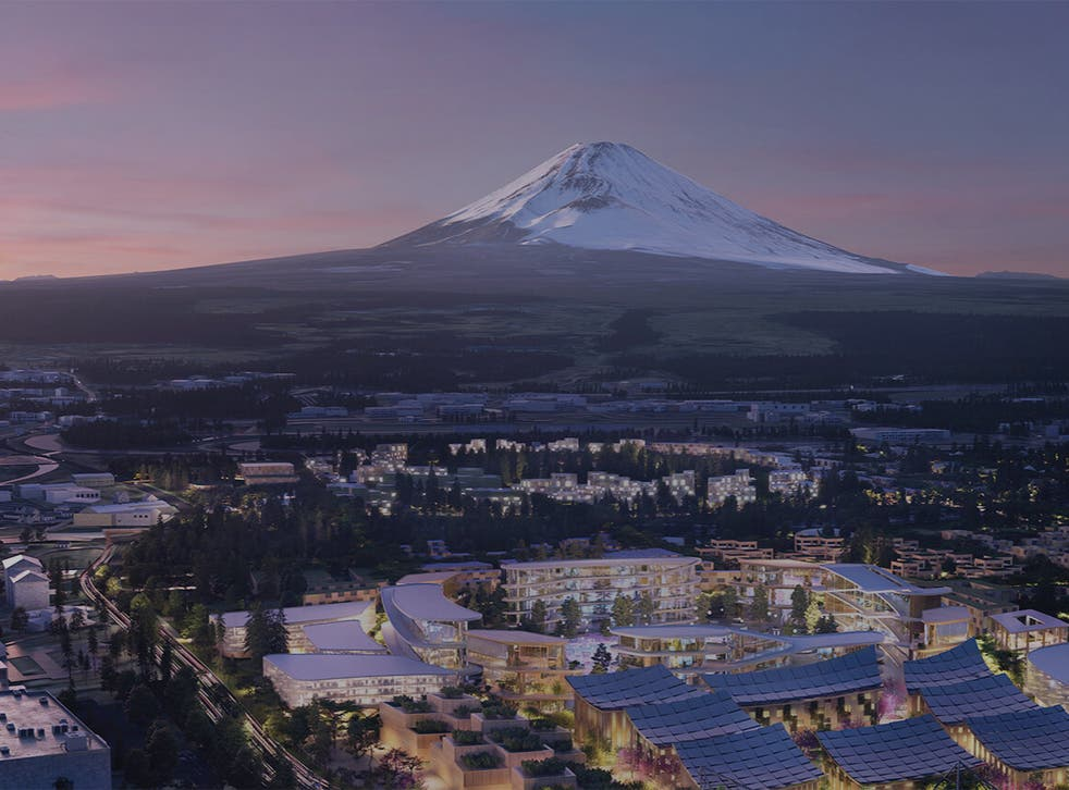 <p>Representative: The new city designed by Toyota will be situated at the base of Japan's Mount Fuji, about 62 miles from Tokyo   </p>