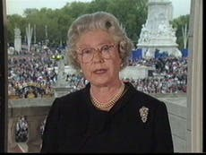5 veces en que la Reina se ha dirigido a la nación en temas como el COVID-19 y la Princesa Diana